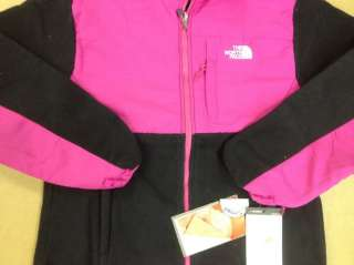 Face Denali Fleece Jacket PINK/BLACK Womens XL NWT With Taggs