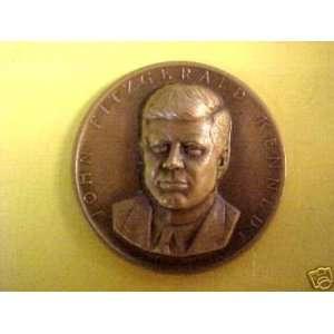 1962 JOHN KENNEDY JFK PRESIDENT KENNEDY ART MEDAL