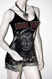 Dimmu Borgir Metal Punk Rock DIY Sexy Cami Tank Top