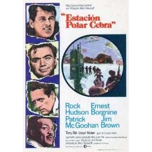 Hudson Ernest Borgnine Patrick McGoohan