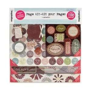 Inspiration Page Kit 12X12 Arts, Crafts & Sewing
