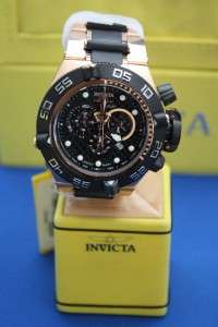 Subaqua Noma IV 18kt Gold Plated Chronograph Swiss Watch New