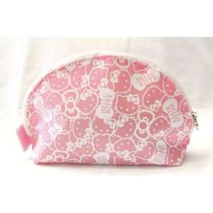 Sanrio Hello Kitty Make Up / Cosmetic Pouch approx 8 wide