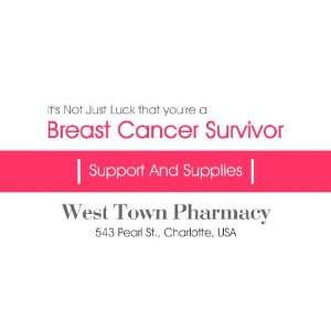 3x6 Vinyl Banner   Breast Cancer Survivor