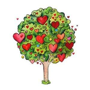 Love Tree Button Arts, Crafts & Sewing
