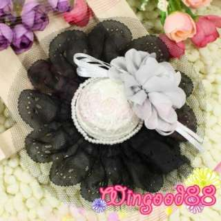 Ladies Girls Wedding Party Flower Mini Faux Pearl Fascinator Hat Hair