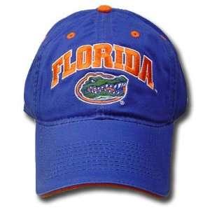 UF FLORIDA GATORS COTTON LOGO CAP HAT BLUE ADJ NEW