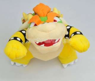 Super Mario Bros BOWSER 10 Plush Doll New/MT85