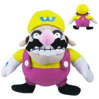 Super Mario Wario Soft Stuffed Plush Doll Toy