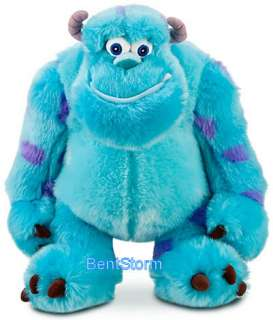 Disney Store MONSTERS INC. 17 BIG SULLEY & 7 MIKE WAZOWSKI PLUSH SET