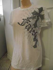 UP SHIRT FAITH CROSS SIZE S SOFT PRETTY STYLE WESTERN HOT ~