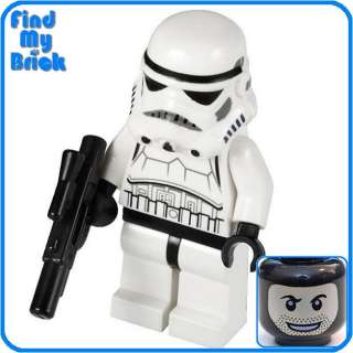 SW183 Lego Star Wars Stormtrooper Minifigure with Face Pattern 9489 MG