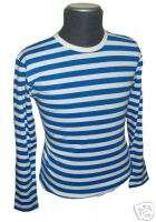 RETRO/INDIE/MOD/SIXTIES STRIPED/STRIPEY T SHIRT S / 36