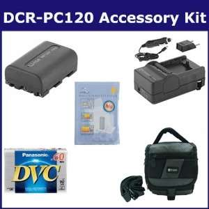 Sony DCR PC120 Camcorder Accessory Kit includes DVTAPE Tape/ Media