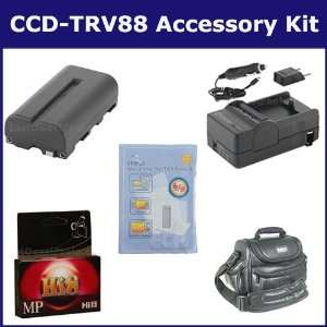 Sony CCD TRV88 Camcorder Accessory Kit includes HI8TAPE Tape/ Media