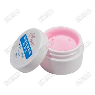 pcs Builder UV Gel Pink Color For Nail Art Manicure