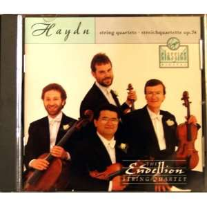 Haydn String Quartet op 74 no 1 in C major, op 74 no 2 in