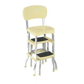 Step Stool Red Cosco Metal High Chair Stool Seat Fold Out