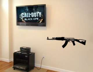 CALL OF DUTY AK47 VINYL WALL DECAL sticker any room