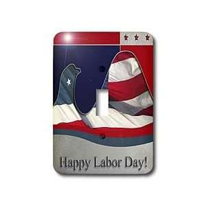 Beverly Turner Labor Day Design   Labor Day, Flag Eagle   Light Switch