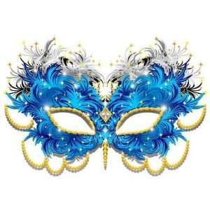 Maschera Carnevale Di Piume feathers Carnival Mask 3 vector   Peel and
