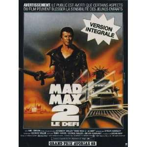 Mad Max 2: The Road Warrior Movie Poster (11 x 17 Inches