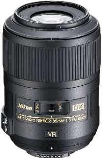 Nikon AF S DX Micro Nikkor 85mm f/3.5G ED VR Lens NEW 0018208021901