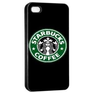 Starbucks Coffee Logo Case for Iphone 4/4s (Black) Free