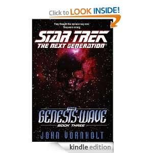 Star Trek The Next Generation Genesis Wave Book Three 3 (Star Trek