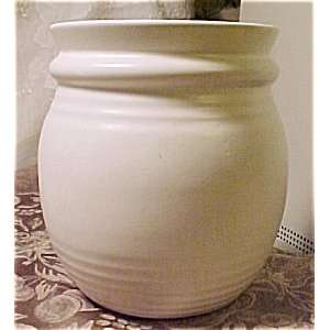 Creamy White McCoy Planter