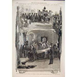 Funeral Marshall St Arnaud Paris France Church 1854 Home