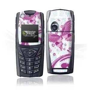 Design Skins for Nokia 5140   Pink Butterfly Design Folie