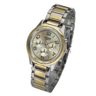 Free Ship 5 Design Luxury Mens Stainless Steel Quartz Wrist Watch