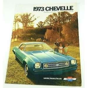 1973 73 Chevrolet Chevy CHEVELLE BROCHURE Malibu Laguna