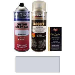 12.5 Oz. Zermatt Silver Metallic Spray Can Paint Kit for