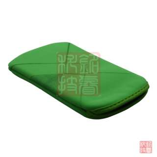 Green soft case cover bag pouch for iphone 4S 4G 3G 3GS