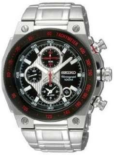 Seiko Mens Mechanitech Chronograph watch SNAD55 029665151261