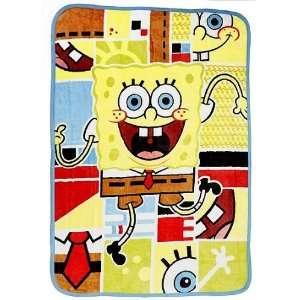 Nickelodeon SpongeBob Squarepants Ultra Soft Blanket Baby