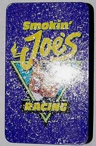 SMOKIN JOES RACING TIN WITH MATCHES ECT. NOS