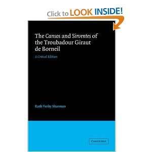 de Borneil, Ruth Verity Sharman: 9780521031783:  Books