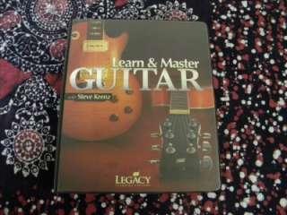 Learn & Master Guitar Steve Krenz DVD Book CD Set Lessons Instruction
