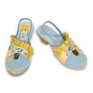 Disney Princess Cinderella Slipper Shoes Deluxe Golden