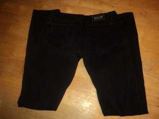 womens MISS ME jeans sz 29 SUNNY SKINNY BLACK jeans ( 29x 31.5)