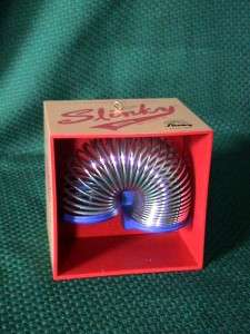 Cards Heirloom ornament ~ Slinky in a Box ~ 2005 ~ Musical