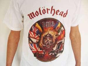 MOTORHEAD 1916 T Shirt Metallica Megadeth Slayer cd lp