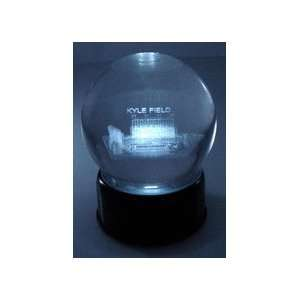 Kyle Field (Texas A & M Aggies) Laser Etched Crystal Ball
