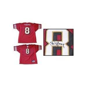 Steve Young Autographed San Francisco 49ers Official NFL