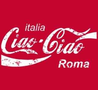 603 CIAO italy italia rome soccer jersey mens T Shirt l