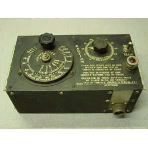 Vintage 1940s Air Force Bomb Release Interval Control