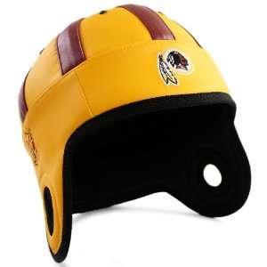 NFL Washington skins Faux Leather Helmet Head (Gold